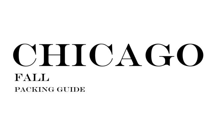 What to Wear to Chicago in the Fall