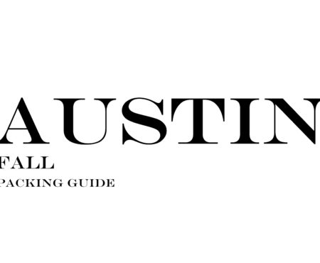 What to Wear to Austin in the Fall