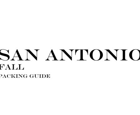 What to Wear to San Antonio in the Fall