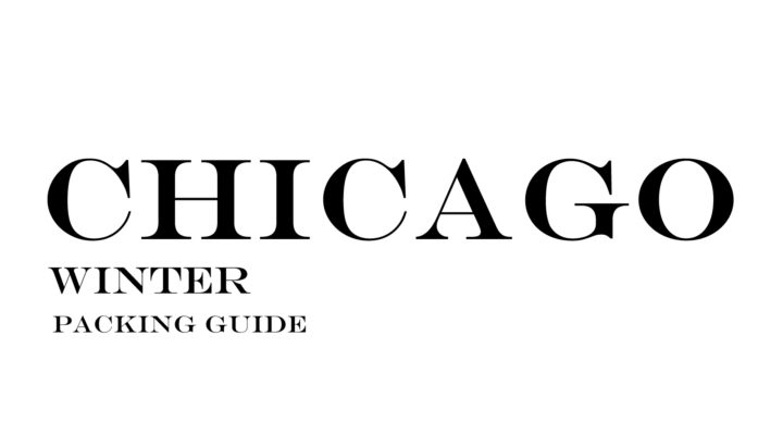 What to Wear to Chicago in the Winter