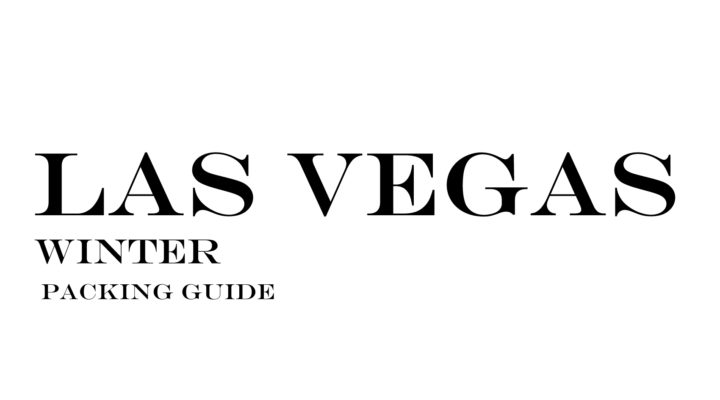 What to Wear to Las Vegas in the Winter