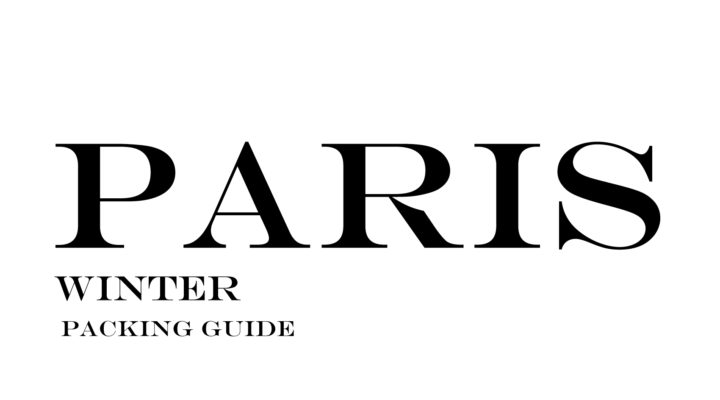 What to Wear to Paris in the Winter