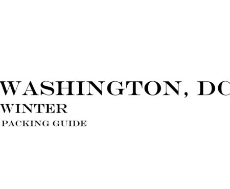 What to Wear to Washington, DC in the Winter