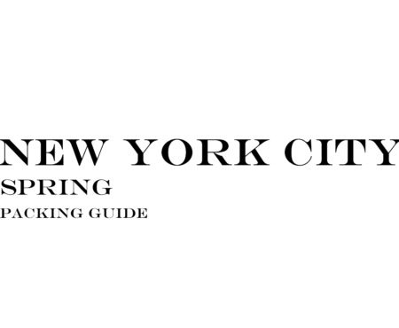 What to Wear to New York City in the Spring