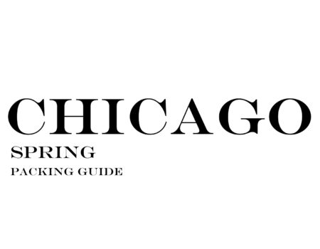 What to Wear to Chicago in the Spring