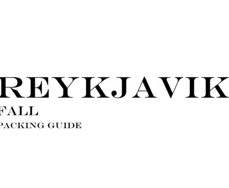 What to Wear to Reykjavik in the Fall