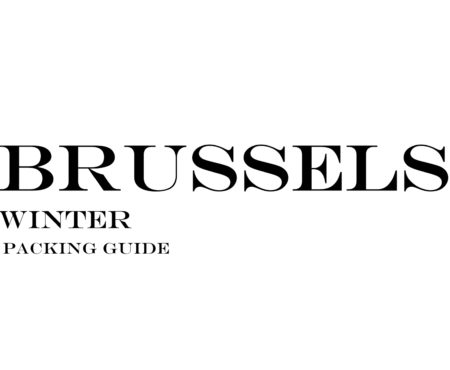 What to Wear to Brussels in the Winter